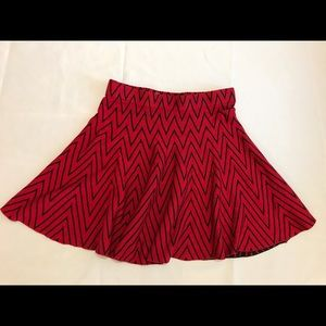 Candies red skirt XS